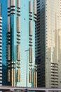 Modern buildings. Dubai Royalty Free Stock Photo