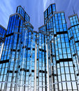 Modern Buildings, Facades Royalty Free Stock Photography