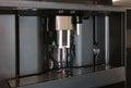 Modern built in espresso coffee machine Royalty Free Stock Photo