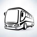 Modern Bus Symbol