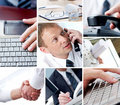 Modern business Royalty Free Stock Photos