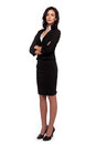 Modern business woman stock image Stock Photo
