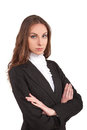 Modern business woman stock image Stock Photos