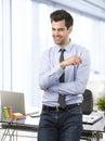Modern businessman Stock Photography