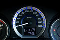 Modern car speedometer Royalty Free Stock Photo