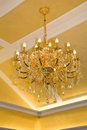 Modern chandelier Royalty Free Stock Image
