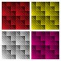 Modern Check Patterns Royalty Free Stock Photo