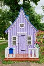 Violet small house