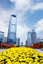 Modern city landscape five elephant square the or wuxiang is located in the langdong central business district of nanning guangxi Stock Images