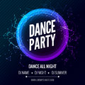 Modern Club Music Party Template, Dance Party Flyer, brochure. Night Party Club Banner Poster.