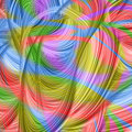 Modern colorful background with abstract smooth lines Stock Images