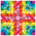 Modern colorful elements at abstract pattern Royalty Free Stock Photography