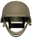 Modern combat helmets Royalty Free Stock Images