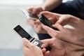 Modern communication Stock Photography