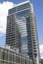Modern condominium building in williamsburg neighborhood of brooklyn new york may on may Stock Images