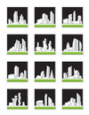 Modern construction set vector illustration Royalty Free Stock Image