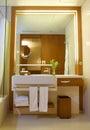 Modern Contemporary Bathroom Royalty Free Stock Photo