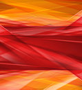Modern crystal red and yellow prism background ready for presentation Royalty Free Stock Photography
