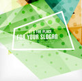 Modern d glossy overlapping triangles in different colors with texture and light effects business brochure background design with Royalty Free Stock Photos