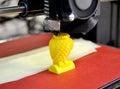 Modern 3D Printer Printing Fig...