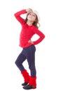 Modern dance kid Royalty Free Stock Photo