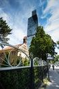 The modern Danube City of Vienna Royalty Free Stock Photo