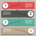 Modern design infographics layout Royalty Free Stock Photo
