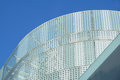Modern design office building with glass panel roof Royalty Free Stock Photo