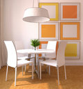 Modern dining-room Royalty Free Stock Image
