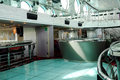 Modern disco and bar interior view of a in a cruise ship during a cruise in the adriatic sea Stock Photo