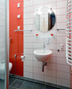 Modern domestic room Royalty Free Stock Photo
