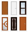 Modern Doors Royalty Free Stock Photography