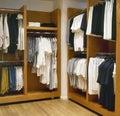 Modern dressing room Royalty Free Stock Photo