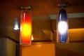 Modern electric lamp Royalty Free Stock Photo