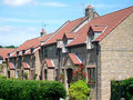 Modern English Housing estate Royalty Free Stock Photography