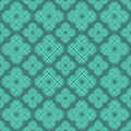 Modern ethnics seamless pattern with ethnic elements Stock Image
