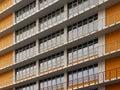 Modern facade. Royalty Free Stock Photo
