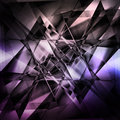 Modern facet background abstract in black and purple tones Royalty Free Stock Images
