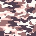 Modern fashion vector trendy camo pattern.Classic clothing style masking camo repeat print. brown black olive colors