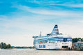 Modern ferry boat Royalty Free Stock Photo