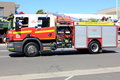 Modern fire engine Royalty Free Stock Photography