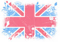Modern Flag of Great Britan Royalty Free Stock Photo