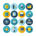 Set of business and office icons Royalty Free Stock Photo