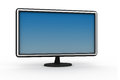 Modern flat screen computer monitor Royalty Free Stock Photo