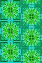 Modern floral seamless design Stock Image