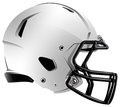 Modern Football Helmet Illustration Royalty Free Stock Images