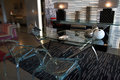 Modern furniture and furnishings Royalty Free Stock Photo