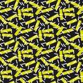 Modern geometry seamless pattern