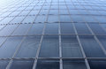 Modern glass building fragment of architecture buiding Royalty Free Stock Image