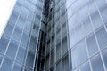 Modern glass building fragment of architecture buiding Royalty Free Stock Photos